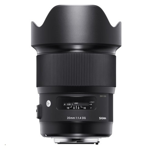 Sigma 20mm  f/1.4 HSM NAF Art Lens For NIKON