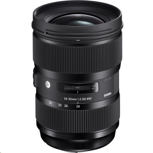 Sigma 24-35mm f/2 DG HSM Art Lens for NIKON