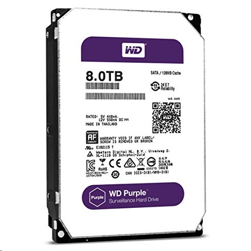 Western Digital WD Purple Surveillance 7 mm SATA HDD Internal Hardisk, 5400RPM, 256MB