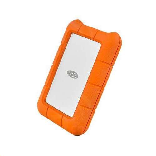 LaCie Rugged Thunderbolt USB-C External Portable HDD Hard Drive