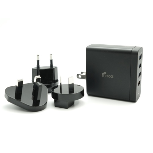 Innoz InnoPower 4-Port USB QC3.0 Travel Charger 旅行充電器