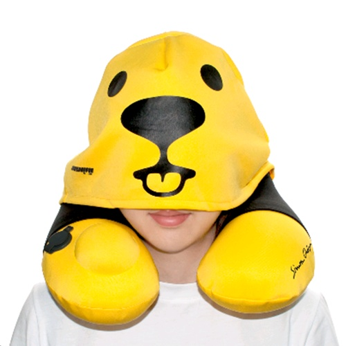 Sigema Neck Pillow with Hat Cover