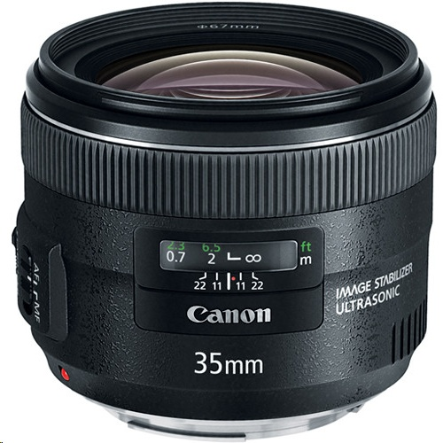 Canon EF 35mm  f/2 (IS) Lens