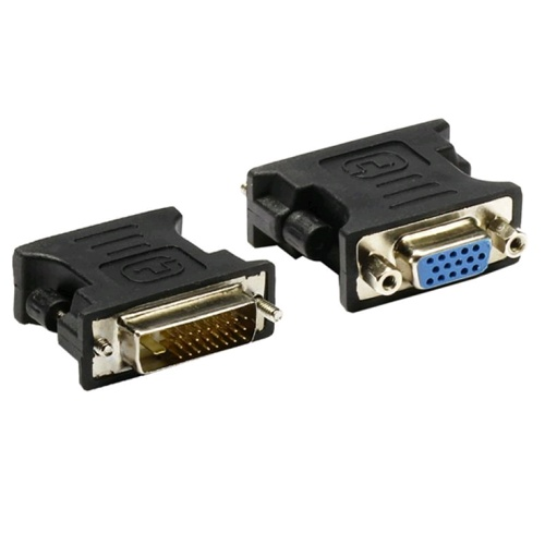 XBase Male DVI to Female VGA 변화 젠더 아답터