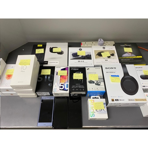 EXPANSYS Lot Of 25 Faulty Devices-US$6.9K Value 불량품 일괄 판매