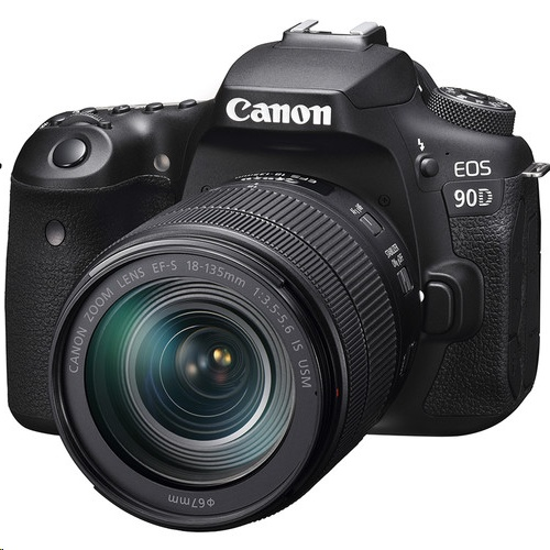 Canon EOS 90D + EF-S 18-135mm f/3.5-5.6 IS USM Lens Kit