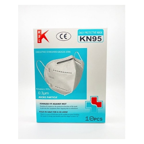 KSL Disposable KN95 3D Face Masks