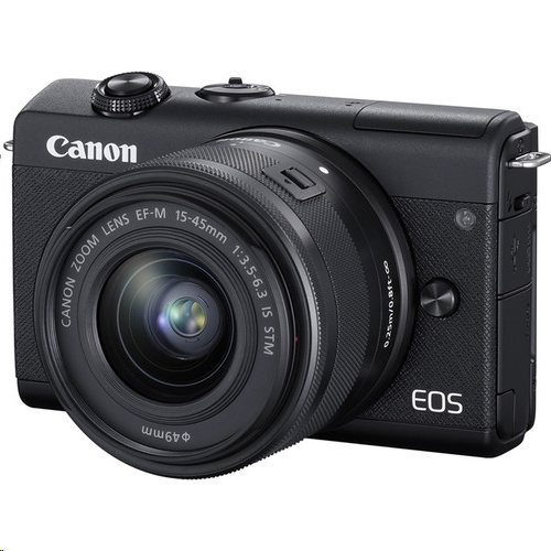 Canon EOS M200 kit + EF-M 15-45mm f/3.5-6.3 IS STM Lens Kit