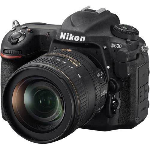 Nikon D500 Digital SLR + AF-S DX NIKKOR 16-80mm f/2.8-4E ED VR Lens Kit