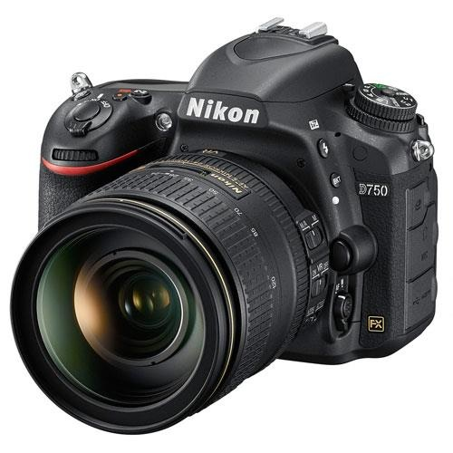 Nikon D750 Digital SLR + 24-120mm Lens