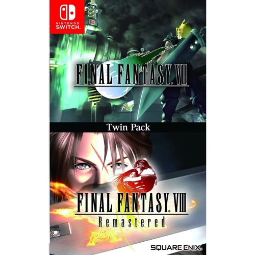 Nintendo Switch Final Fantasy VII & VIII Remastered Twin Pack