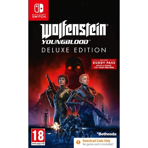 Nintendo Switch Wolfenstein: Youngblood Deluxe Version 닌텐도 스위치 게임