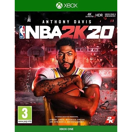 Microsoft Xbox One NBA 2K20 籃球遊戲