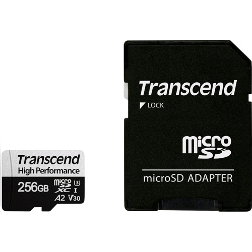 Transcend 300S-A Micro SDXC/SDHC Card 256GB