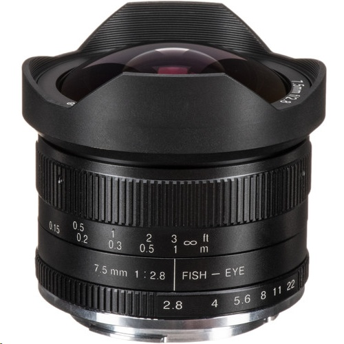 7 Artisans Photoelectric 7.5mm f/2.8 Fisheye Lens