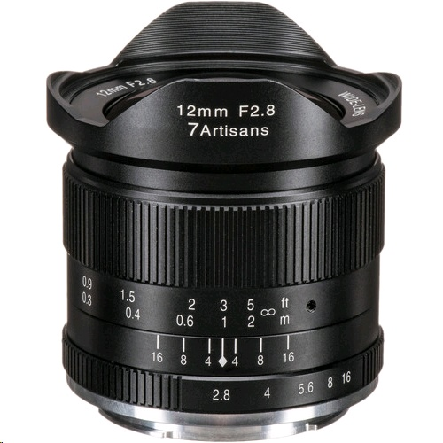 7 Artisans Photoelectric 12mm f/2.8 Lens 鏡頭