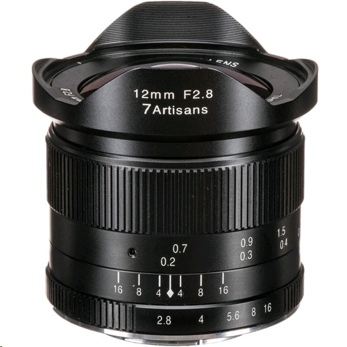 7 Artisans Photoelectric 12mm f/2.8 Lens