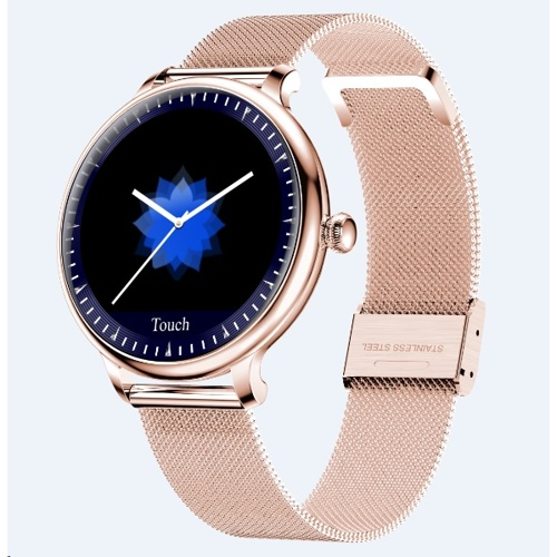 Tec Sante Blood Pressure & Menstrual Reminder Smart Watch SY12  for Ladies