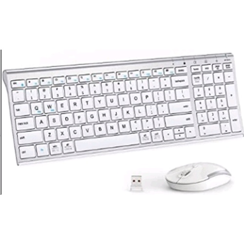 iclever IC-GK03-SI 2.4G Wireless Keyboard + Mouse Combo