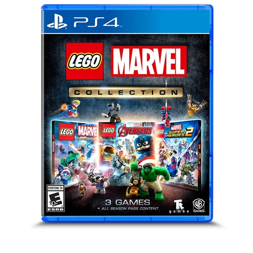 PlayStation LEGO Marvel Collection