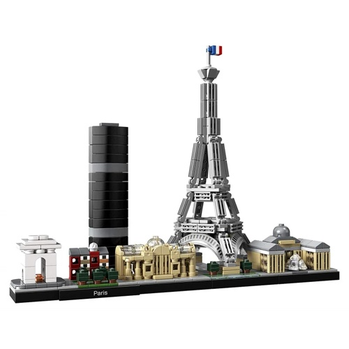 Lego 21044 Architecture : Paris Building Kit