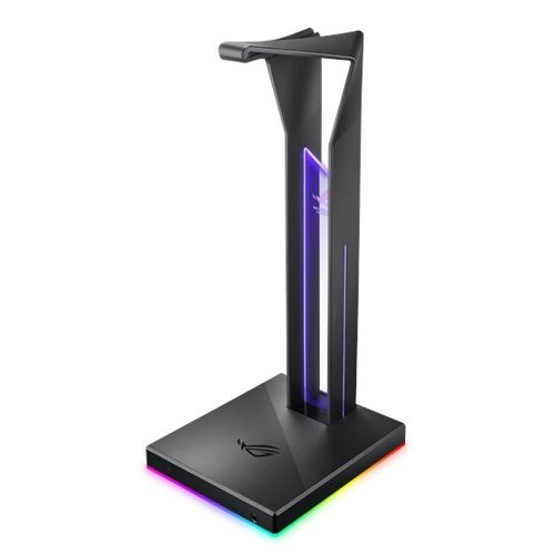 ASUS ROG THRONE Qi gaming headphones wireless charger stand
