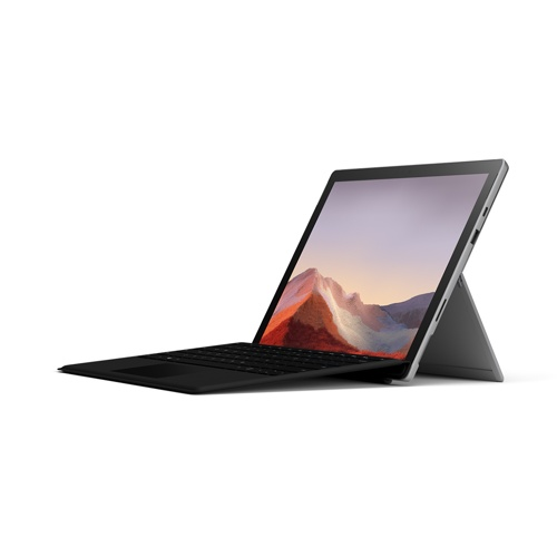 Microsoft Surface Pro 7 Tablet with Black Keyboard