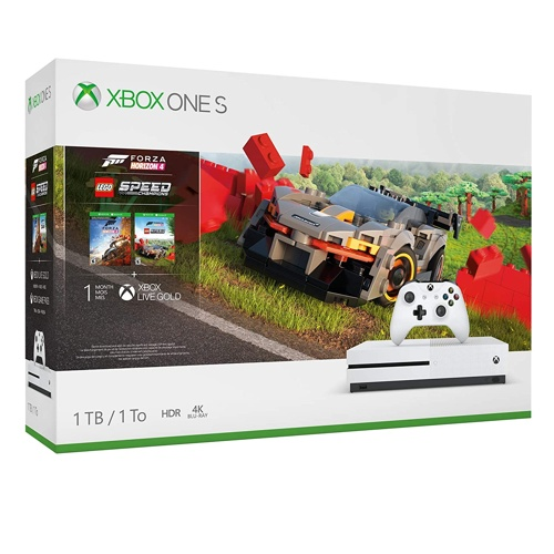 Microsoft Xbox One S w/ Forza Horizon 4 w/Lego add on
