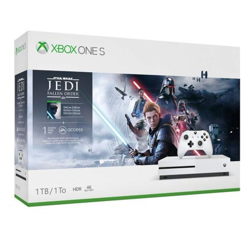 Microsoft Xbox One S w/Star Wars