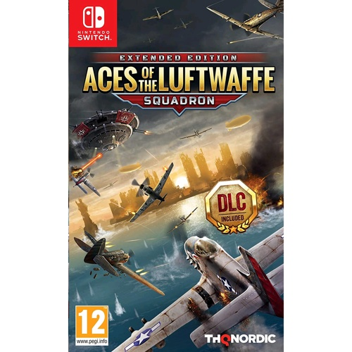 Nintendo Aces Of The Luftwaffe:Squadron-Extended Edition
