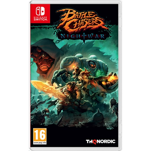 Nintendo Battle Chasers: Nightwar