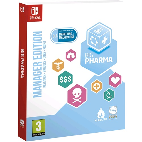 Nintendo Big Pharma Special Edition