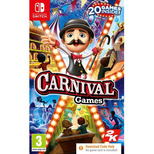 Nintendo Carnival Games (Code In A Box)