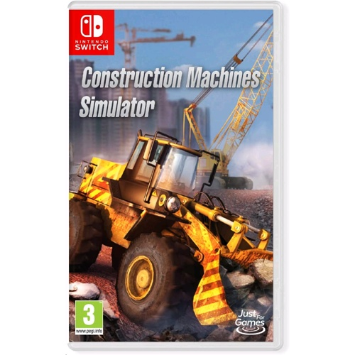 Nintendo Construction Machines Simulator
