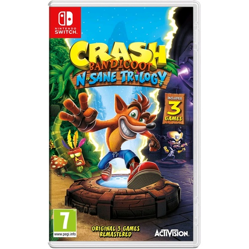 Nintendo Crash Bandicoot - N'sane Trilogy Remastered