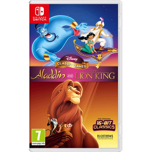Nintendo Disney Classic Games: Aladdin And The Lion King