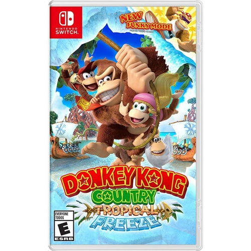 Nintendo Donkey Kong Country Returns - Tropical Freeze