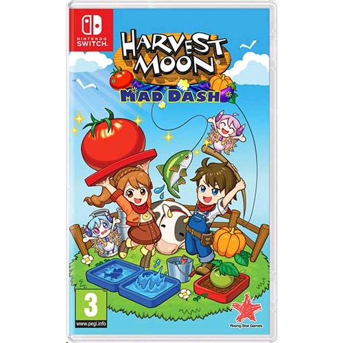 Nintendo Harvest Moon: Mad Dash