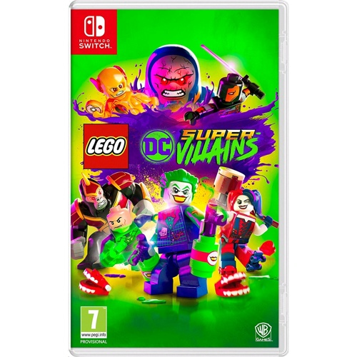 Nintendo Lego DC Super Villains