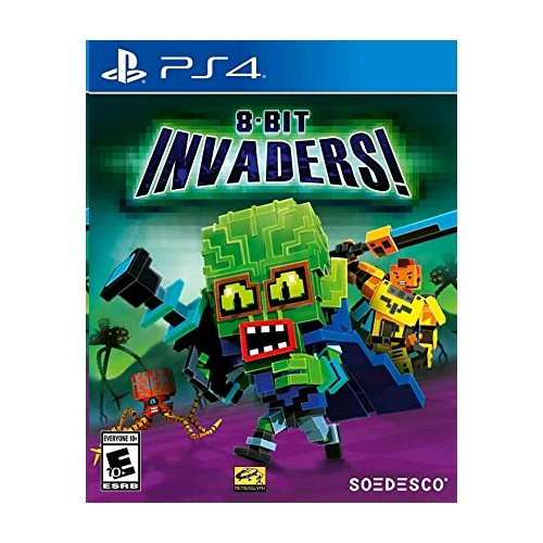PlayStation 8-Bit Invaders!