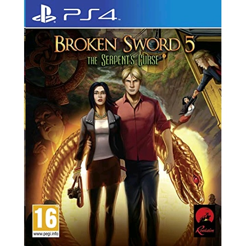 PlayStation Broken Sword 5: The Serpent's Curse