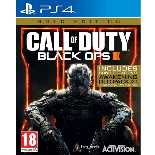 PlayStation Call Of Duty Black Ops 3 Iii Gold Edition