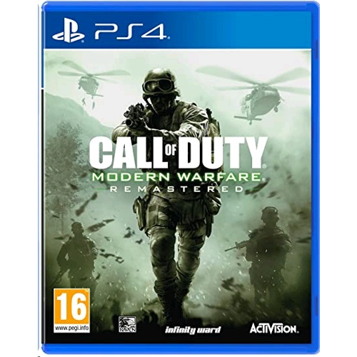 PlayStation Call Of Duty: Modern Warfare Remastered