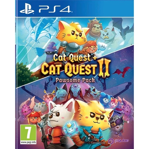 PlayStation Cat Quest + Cat Quest Ii: Pawsome Pack