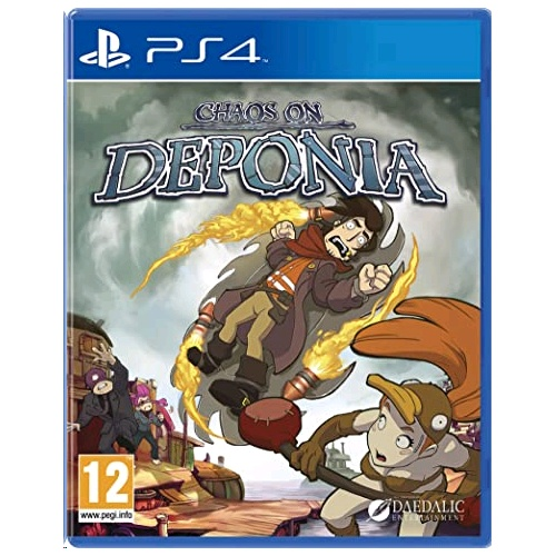 PlayStation Chaos On Deponia