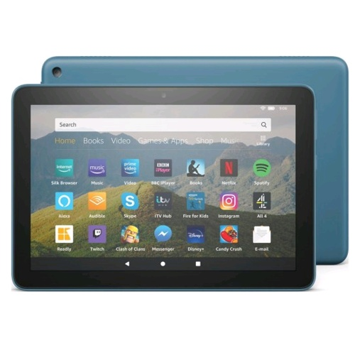 Amazon Fire HD 8 Tablet 2020, 10th generation
