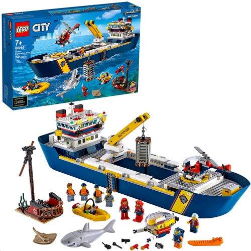 Lego 60266 LEGO® City Ocean Exploration Ship Building Kit