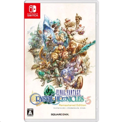 Nintendo Switch Final Fantasy Crystal Chronicles Remastered Edition