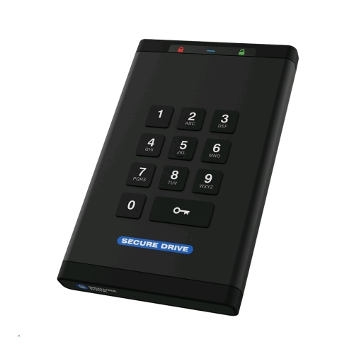 SecureDrive KP KeyPad Series HARDWARE ENCRYPTED External Drive