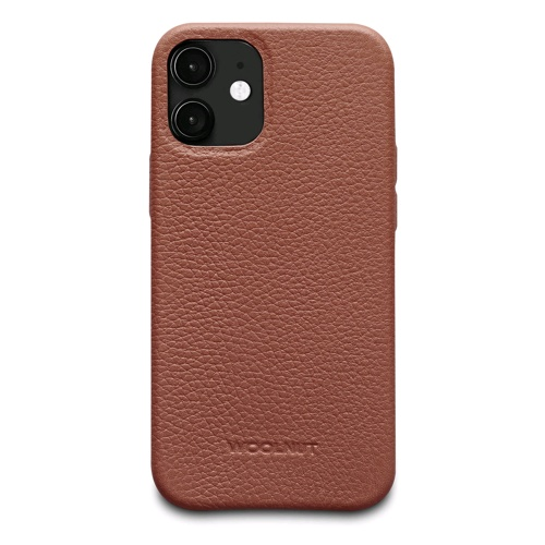 Woolnut Leather Case for iPhone 12 Mini Case